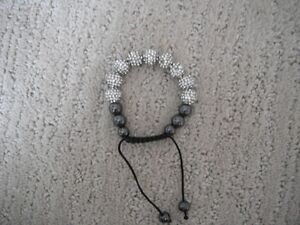 Shamballa Bracelet With Hematite London Ontario image 1