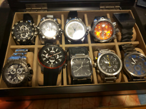 Watches for sale .make me an offer .all in mint condition.