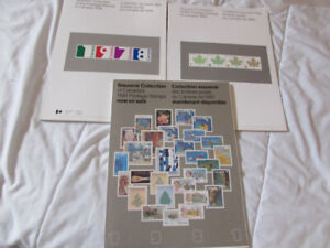 Collection annuelle timbres  Poste Canada 1978 ++++ 2009