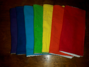 Homemade Cloth Wipes - for cloth diapers