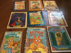 Arthur books by Marc Brown