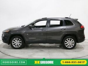 2014 Jeep Cherokee LIMITED AWD CUIR TOIT PANO NAVIGATION CAMERA