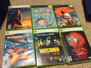 17 Xbox 360 and Xbox games (use)