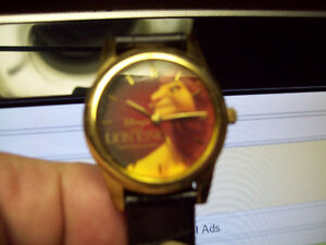 RARE MICKEY MOUSE WATCH  and TIMEX LION KING WATCH London Ontario image 4