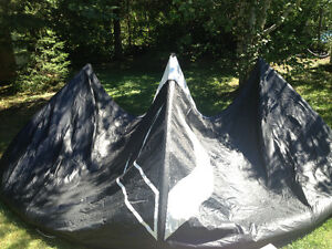 2013 BWS Noise 12m kite with Bag, Bar, Lines and Pump