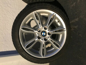 Oem bmw winter tires and mags