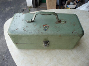Vintage tackle box