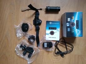HD sports DV ,M500, waterproof bicyclic more bike camcorder