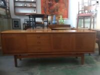 Beautiful teak Danish style sideboard by William Lawrence Furniture 1960s / 1970s