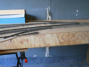 HO scale layout section for electric model trains London Ontario image 4