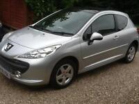 2008 58 Peugeot 207 1.4 75 Cielo 31,000 miles