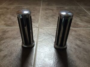 Chrome Motorcycle Grips