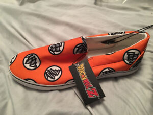 DRAGON BALL Z SLIP-ON SHOES – SIZE 10 OR 11!!!!!