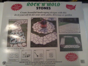 New paving stone mold making form.
