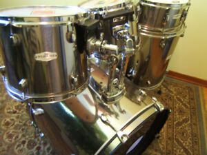 PEARL FZH Fusion DRUMS  ISS MOUNT ZENITH GOLD CHROME SHELL PACK