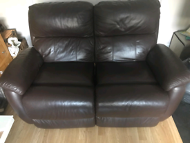 Nearly New Genuine Leather Sofa