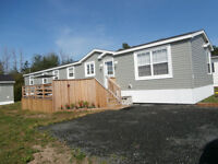 3 Bedroom, 1.5 Bath Mini Home with large Deck and Workshop