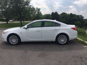 2011 Buick Regal CXL Pearl White Sport Leather Bluetooth Sunroof