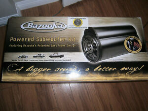 "Bazooka 10"" Powered Subwoofer Kit (Fits any car/truck)"