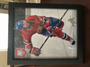 Montreal Canadians autographed photo set of 4 (fan club)