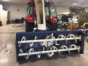 96 inch snowblower and 7 foot rototiller