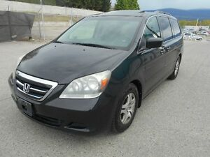 2005 Honda Odyssey 8 Passenger Leather Seats Sunroof