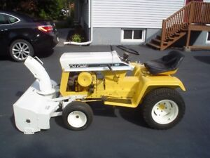 Cub Cadet Tractor with Snowblower