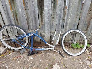 bike needing tlc.
