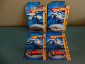 Hot Wheels Chevy Camaro 2007 First Edition Various Lot of 4