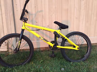 HARO BMX BIKE WITH EXTRA SEAT AND EXTRA GRIPS!