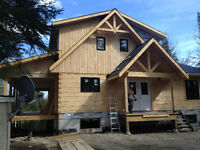 Log Home Stainer Wanted