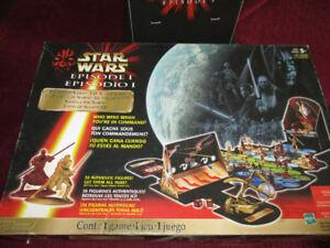 Star Wars Episode 1 Battle 1999 Hasbro Action Board Game