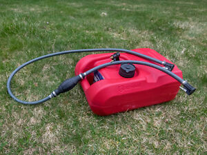3 gal gas tank for outboard motor with Yamaha fitting