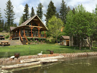 WATERFRONT PROPERTY ON LAC LA HACHE