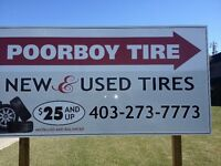 Poorboy Tire is hiring F/T Front Sales