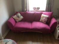 Two Sofas, swivel chair and footstool **full suite**