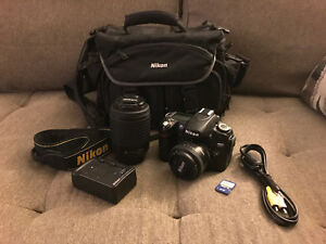 Nikon D80 DSLR - 3 Lenses, Bag and More...