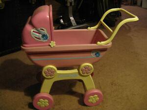 Powder Puff doll stroller