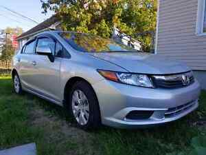 2012 Honda Civic Safety and E-test