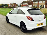 2012MY FACELIFT VAUXHALL CORSA 1.2i LIMITED EDITION WHITE BETTER THAN SXI 2 KEYS