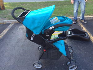 Costco Stroller and Car Seat.