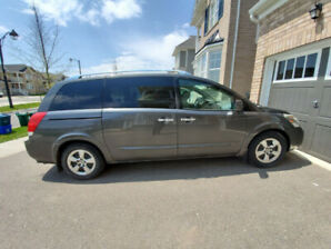 2008 Nissan Quest S - CarFax Report-extra Rims with winter tires