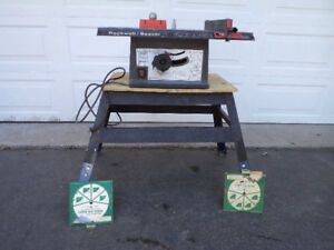 """Rockwell  8"""" Table Saw"""