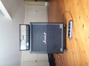 100w Dual Rectifier mesa boogie head, and mode 4 cabnet