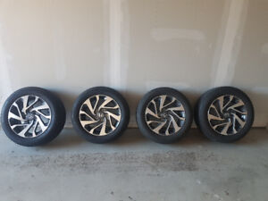 honda rims and tire almost brand new