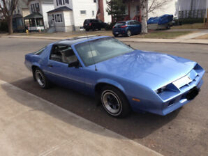 1984 Chevrolet Camaro T-tops low kms 305 engine automatic