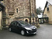 2009/09 Peugeot 308 S 1.6HDI ( 110bhp ) 5 Door Hatchback Black