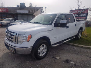 2011 FORD F150 4X4  Certified  SUPER-CREW 2 YEARS WARRANTY