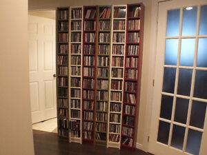 2 Bibliothèque2 à CD IKEA