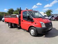 FORD TRANSIT 2.2 TDCi (125PS) 350 | LWB | DROP SIDE - TAIL LIFT | 1 OWNER | 2012